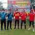 Dandim 0306/50 Kota Buka Turnamen Gateball HUT TNI Ke 75