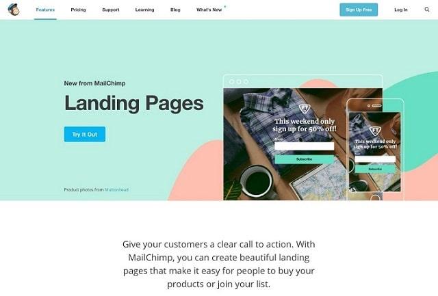 Landing Page ngắn gọn