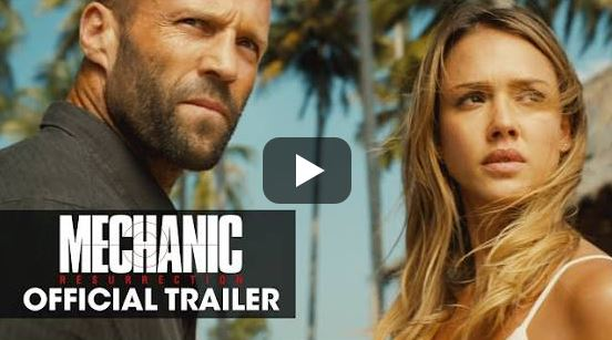 Mechanic Resurrection Movie Official Trailer Watch Online Full Video