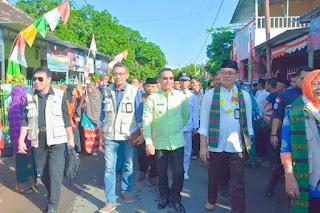 Tiba di Rite, Tim Penilai Lomba Kelurahan Terintegrasi tingkat Provinsi NTB Disambut Meriah
