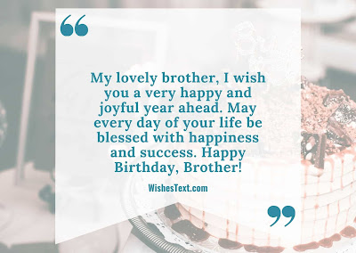 happy birthday quote for big brother