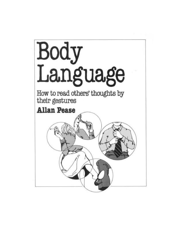 Body Language: How To Read Others Thoughts By Their Gestures PDF Book