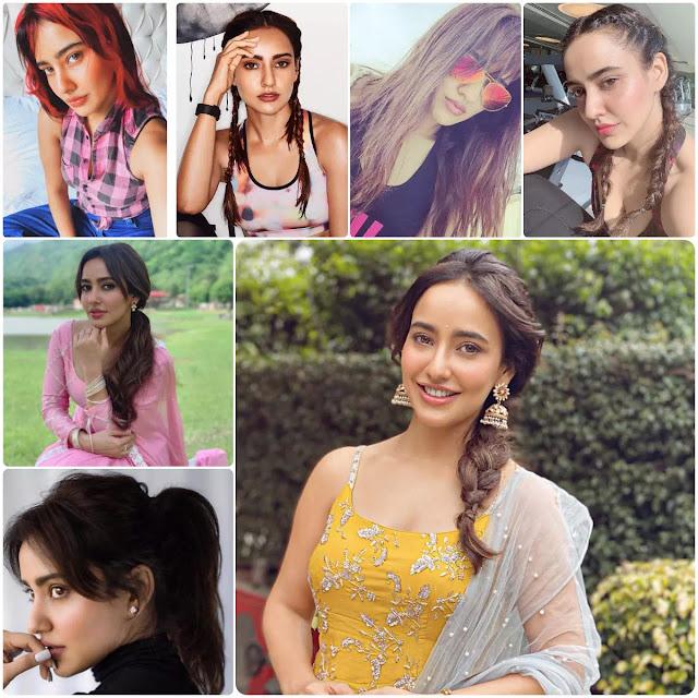 Neha Sharma Hairstyles