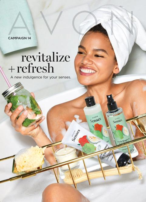 AVON Campaign 14 2020 Brochure Online - Revitalize +Refresh