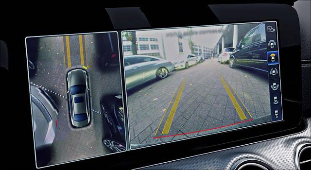 Hệ thống Camera 360 trên Mercedes E350 AMG 2019 giúp lái xe an toàn hơn