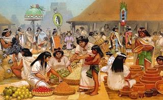 Intercambio comercial de los aztecas