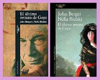 Portadas de la obra de teatro histórica El último retrato de Goyam de John Berger y Nella Bielski