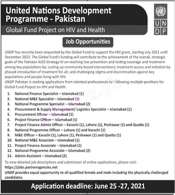 United Nations Development Programme jobs 2021 | UNDP jobs 2021
