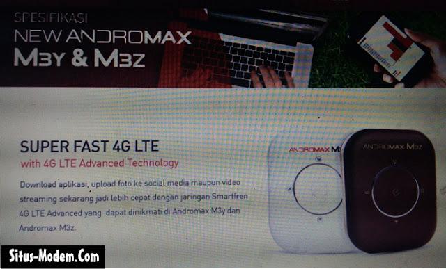 Inilah Harga Modem MIFI 4G LTE Smartfren Seri Andromax M3Z dan M3Y Terbaru