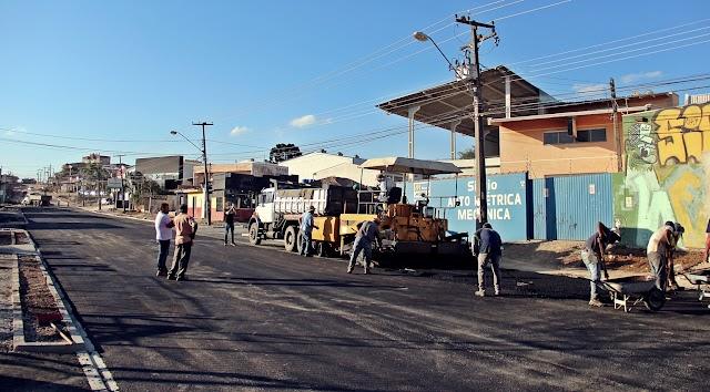 Obras na Rua Gustavo Kabitschke entram em fase de conclusão