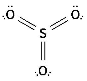 Struktur Lewis Dari SO3