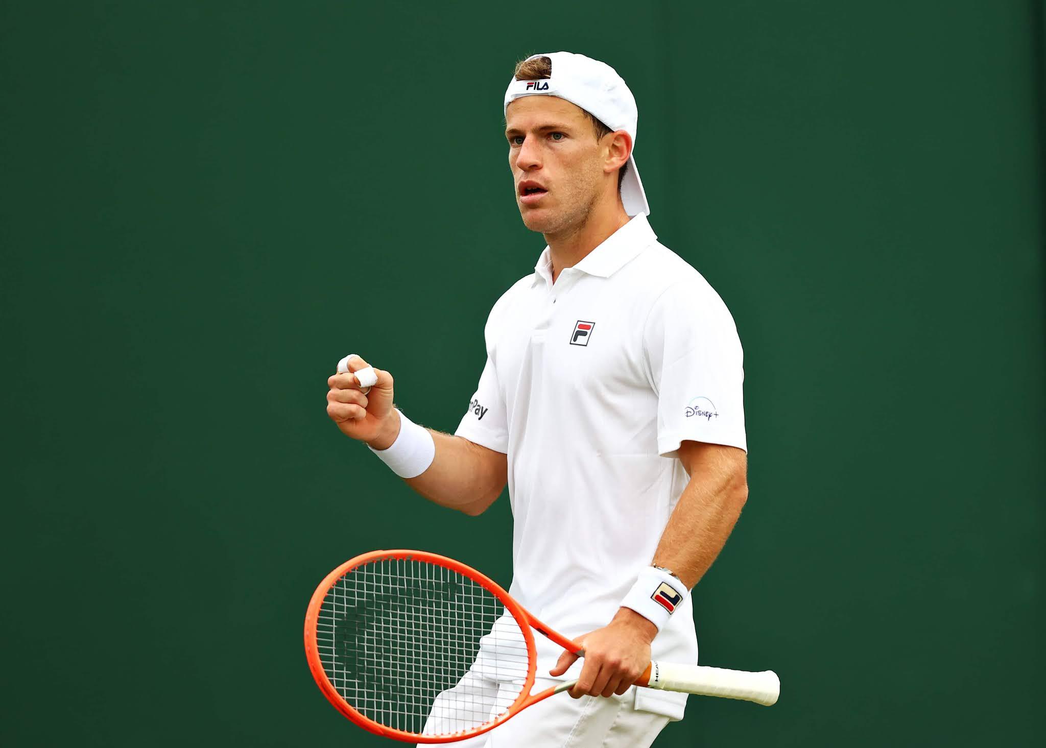 Schwartzman venció a Liam Broady y avanzó a la tercera ronda en Wimbledon