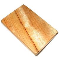 楠の木製名刺入れ
