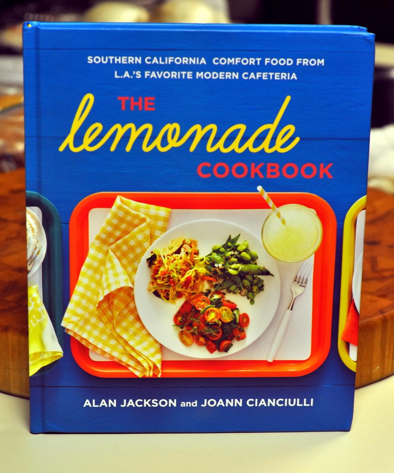 The Lemonade Cookbook - Alan Jackson and JoAnn Cianciulli | Taste As You Go