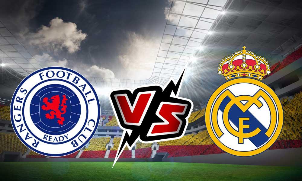 مباراة ريال مدريد وجلاسكو رينجرز اليوم
