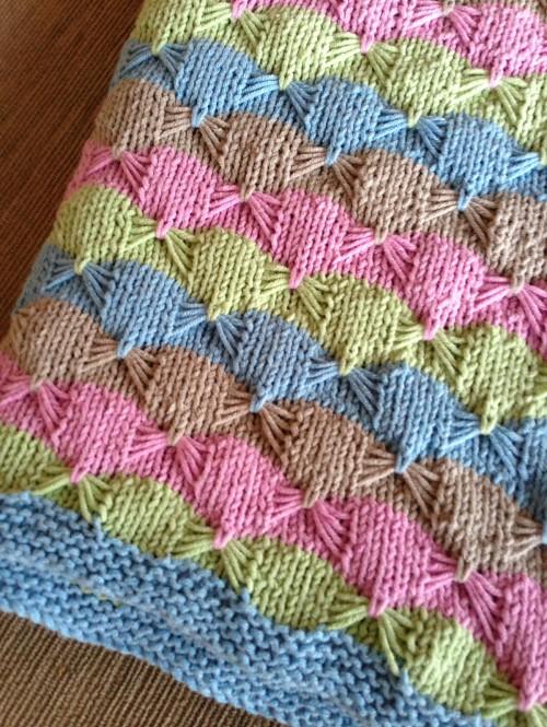 Treetops Baby Blanket - Free Pattern