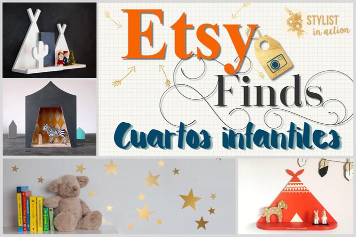 Etsy finds - inspiración para cuartos infantiles portada post