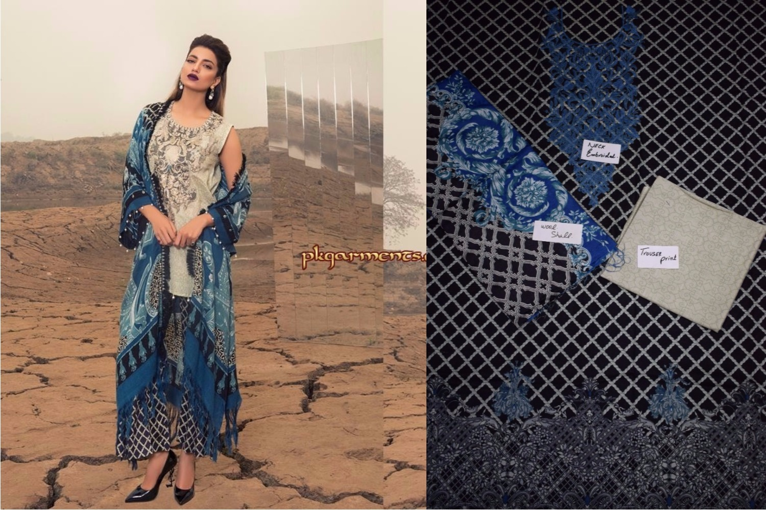 ad82a5bda5 Rangrasiya Designer Lawn/Linen And Khaddar Replica Collection 2018