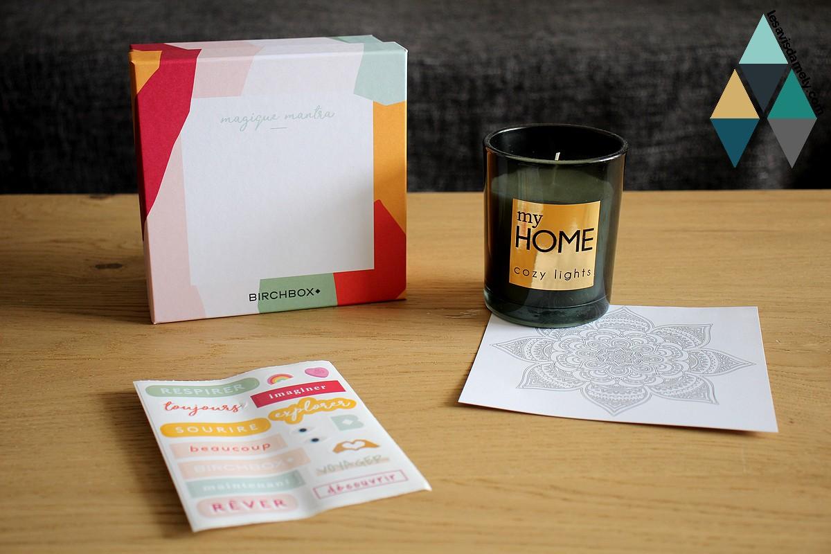 avis test box birchbox parrainage unboxing produits beauté