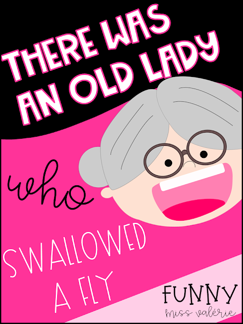 https://www.teacherspayteachers.com/Product/There-Was-an-Old-Lady-who-Swallowed-a-Fly-Activities-3714833