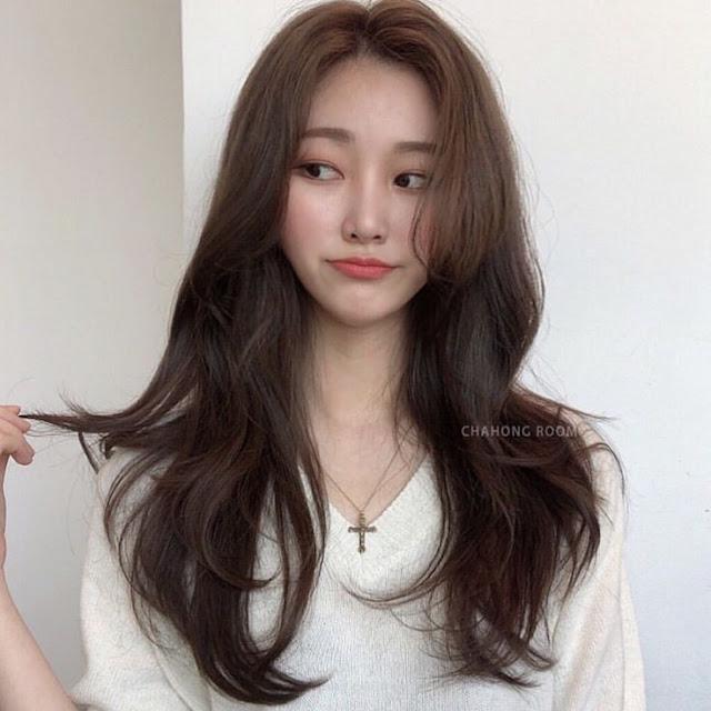 Cute Medium Korean Hairstyle Ideas
