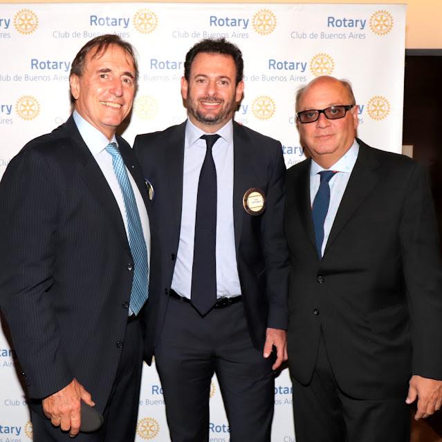 Javier Negri, José Urtubey y Martín Cabrales