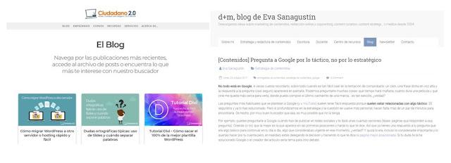ejemplos uso imagenes en blogs