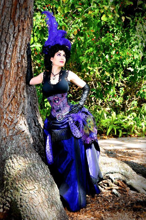 Steampunk Fashion Guide Steampunk Morgan Le Fey