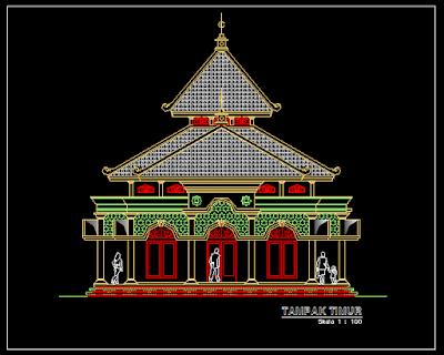 download file cad masjid