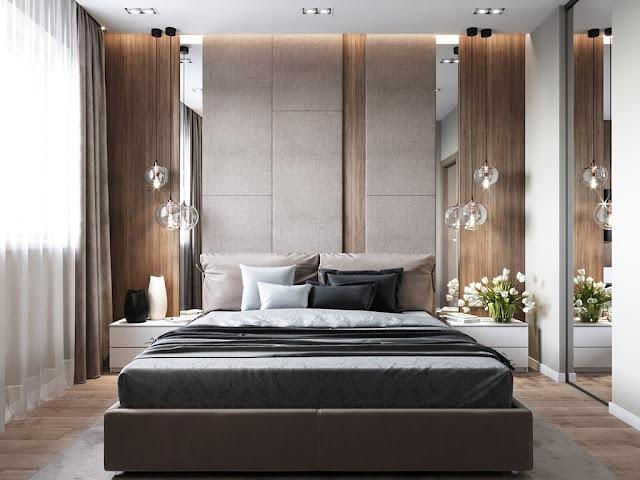 Những mẫu thiết kế nội thất phòng ngủ chung cư siêu đẹp P3