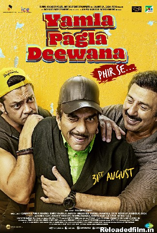 Yamla Pagla Deewana: Phir Se 2018 Hindi Movie 480p  720p 1080p
