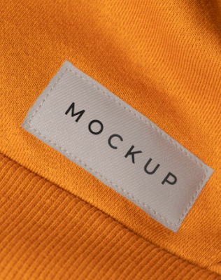 mockup-label