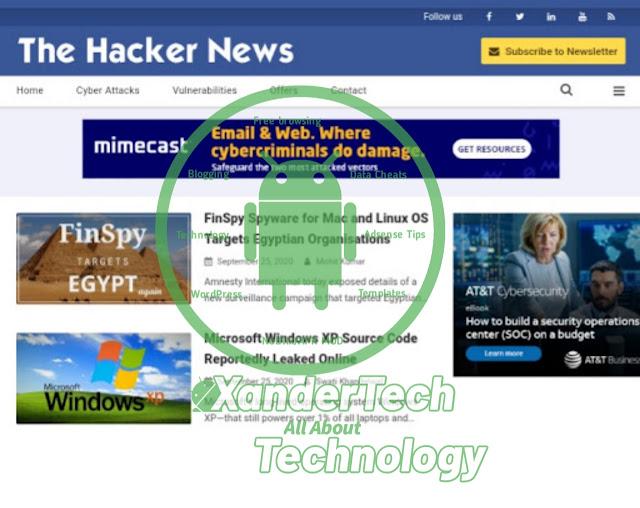 Download Hacker News Premium Blogger Template
