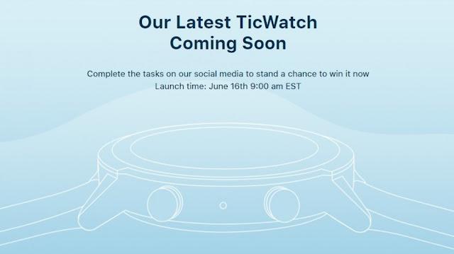 تسريب مواصفات وتصميم Mobvoi TicWatch E3 في مقطع فيديو