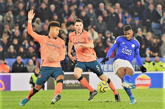 Soccer news: Leicester City Players Celebrates Iheanacho
