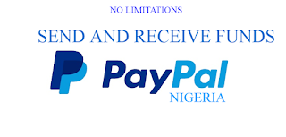 PayPal account that receives and send money in Nigeria
