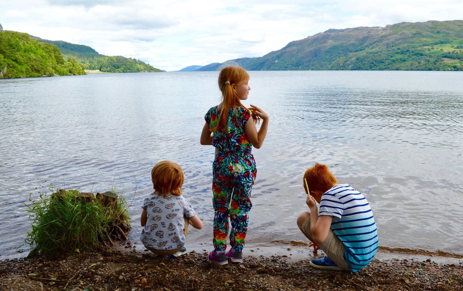 A Postcard from Fort Augustus, Loch Ness