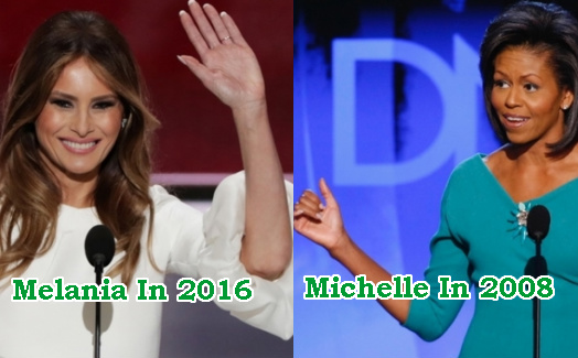 melania trump steals michelle obama quotes