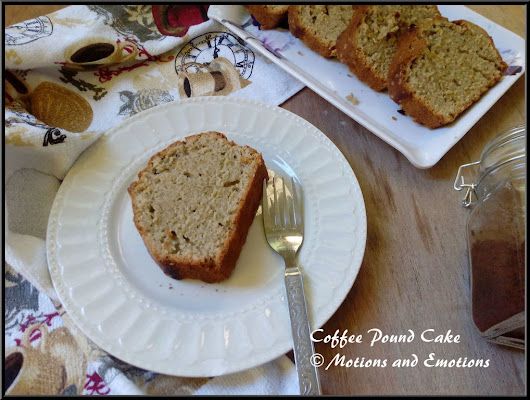 Coffee Pound Cake