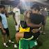 Footballer Isaac Success Asks His Girlfriend To Marry Him...
