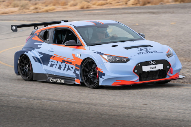 Hyundai N Brand Reveals All-New RM19 Racing Midship Sports Car Prototype