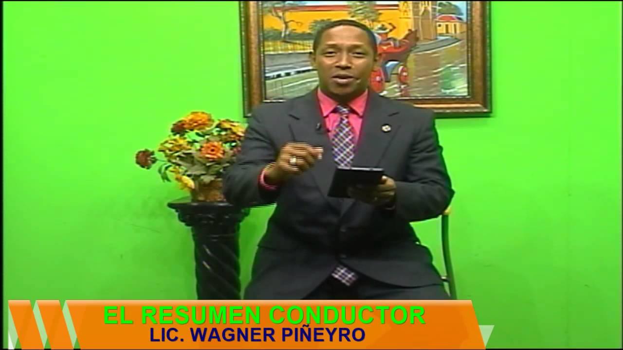 El Fogon Barahonero Y El Resumen Tv Con Wagner Piñeyro