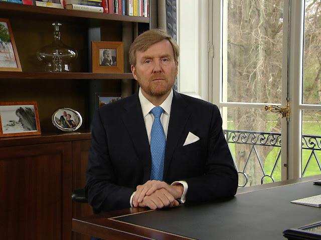 الملك الهولندي فيليم ألكسندر: لا يمكننا إيقاف فيروس كورونا وسيبقى 2020 في ذاكرتنا للأبد