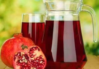 التحكم في مرض السكري عن طريق عصير الرمّان