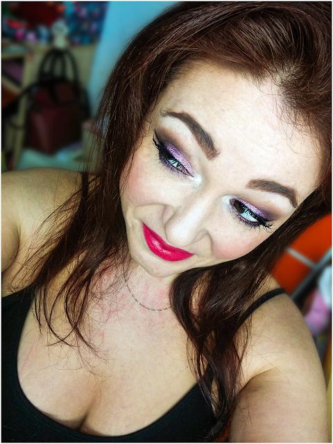 vibrant violet  55 eyeshadow ombretti makeup lakshmi makeup vegan ecobio