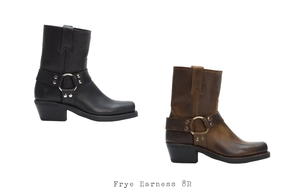 Wish List | Frye Harness 8R | Allegory of Vanity
