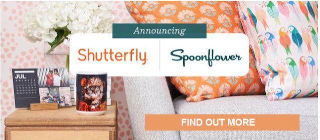 Spoonflower is now a part of the Shutterfly family!