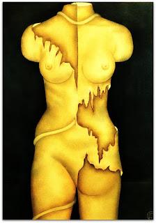 Loide Schwambach - Série Corpos - Frente e Verso
