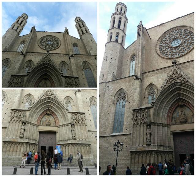 Praças para curtir Barcelona - Plaça de Santa Maria