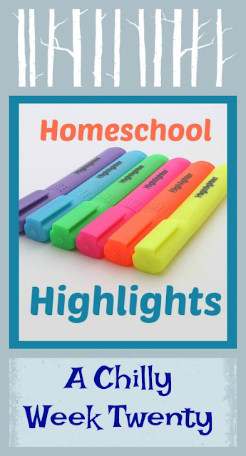 Homeschool Highlights - A Chilly Week Twenty on Homeschool Coffee Break @ kympossibleblog.blogspot.com